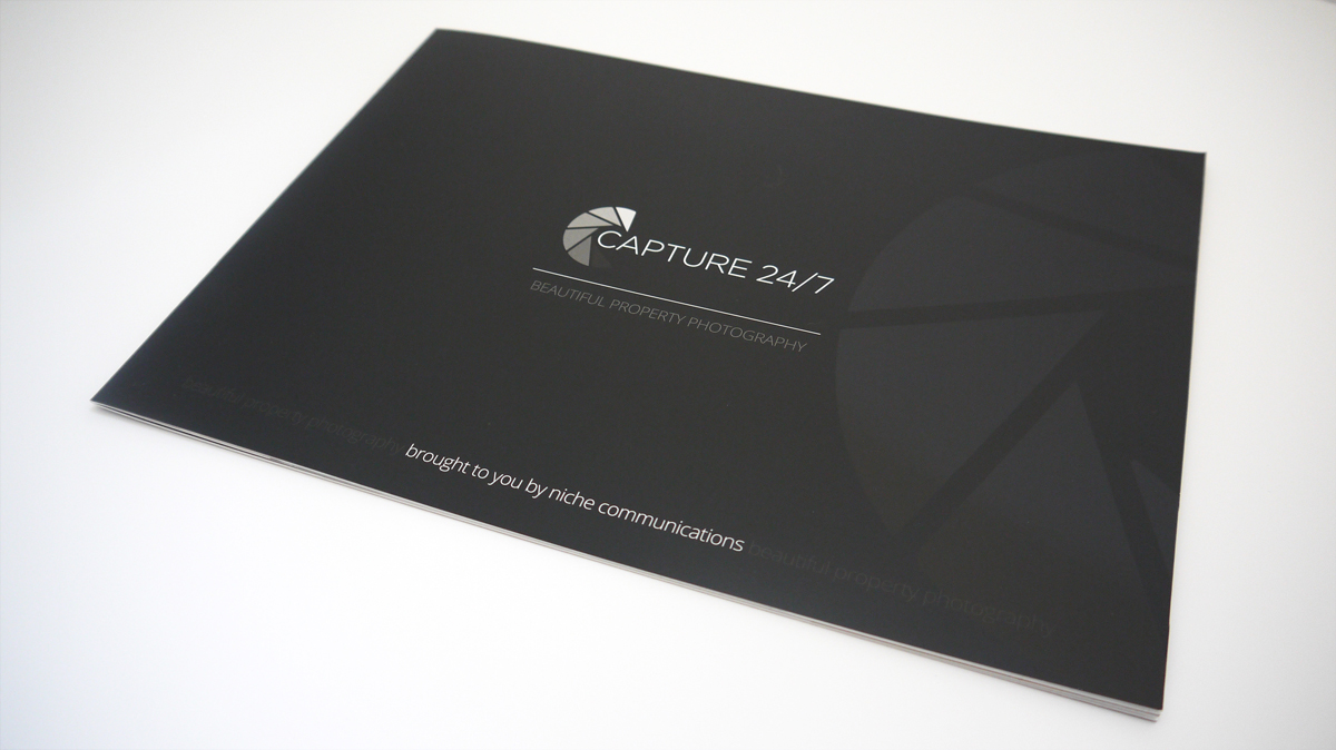 Capture247 A4 Landscape Brochure