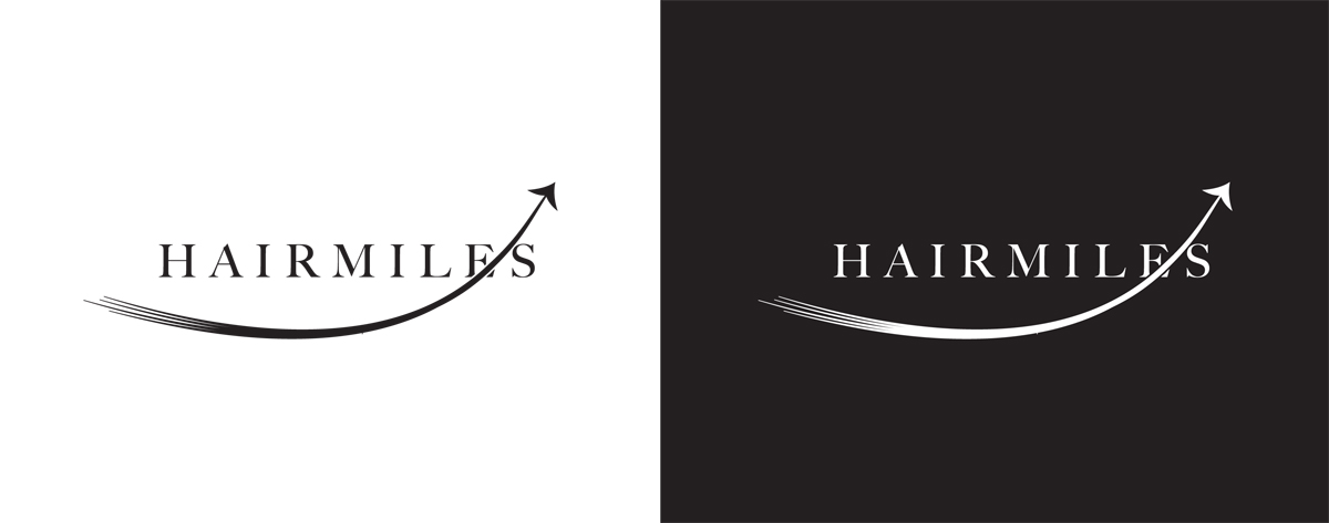 Logo concept for the Hairmiles loyalty scheme