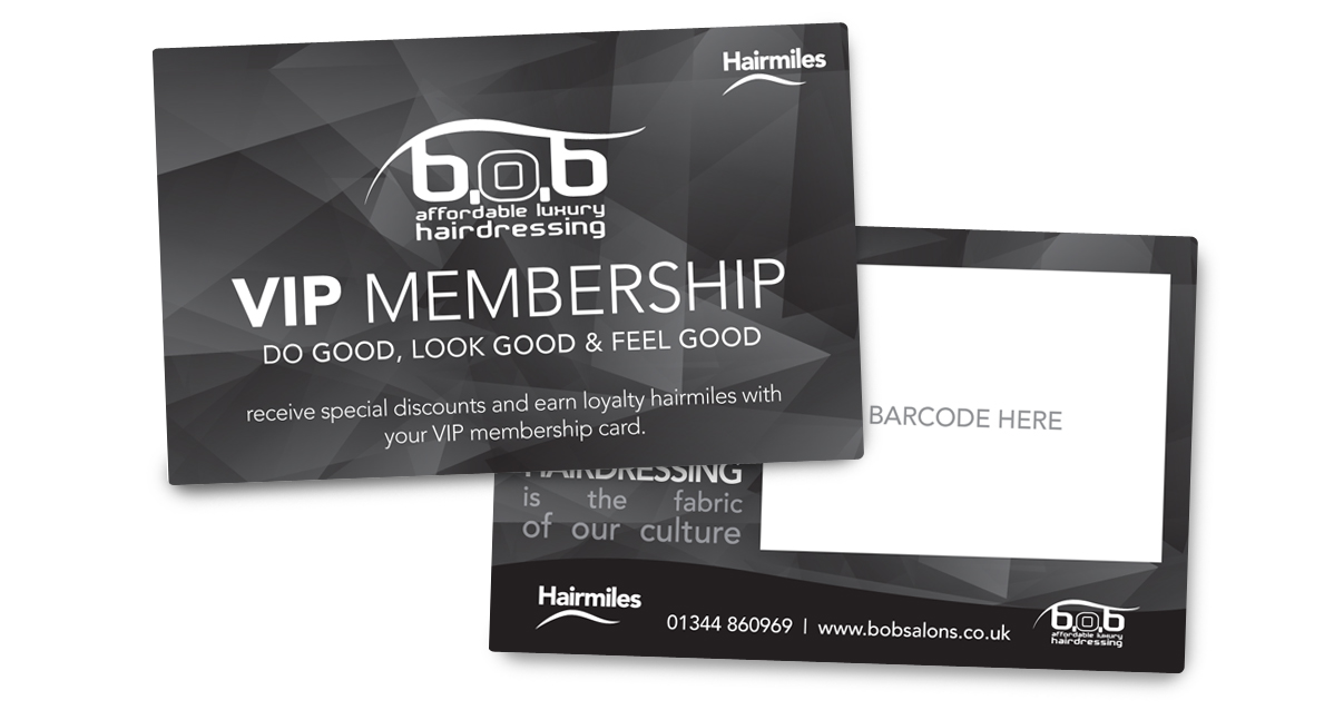 The membership card, in all it's glory