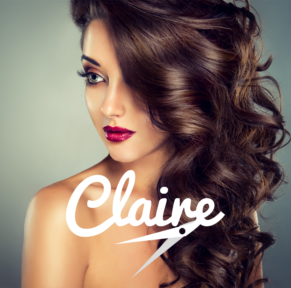 Claire Hairdressers logo design & brand creation