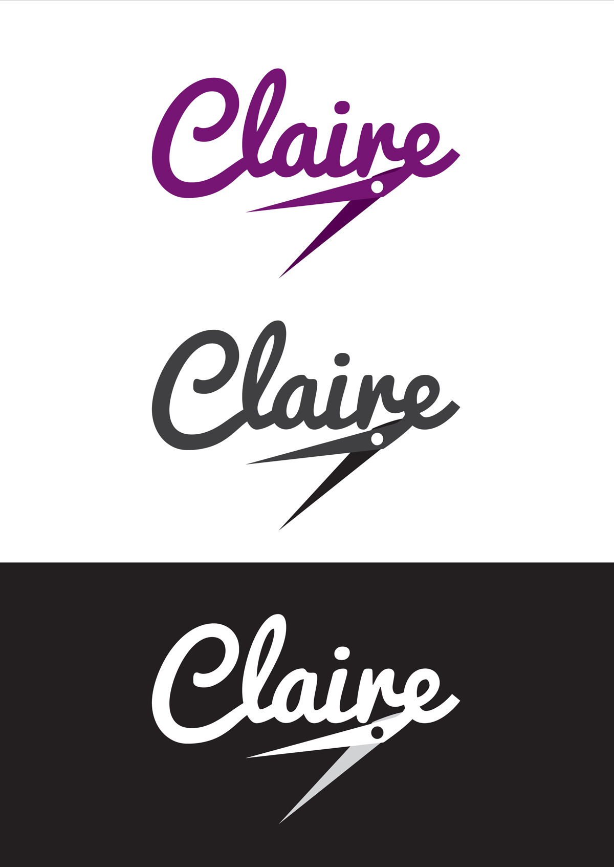 Logo design & options for different colour backgrounds