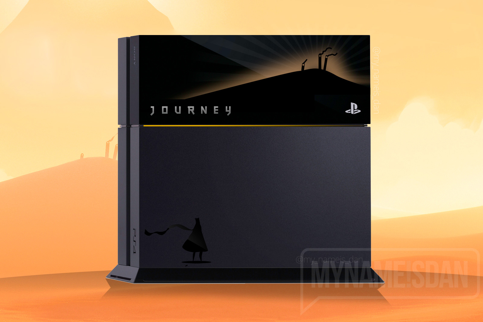 Journey PS4 by My Name is Dan