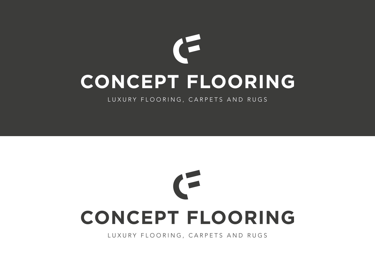 Concept Flooring Rebrand - by My Name is Dan
