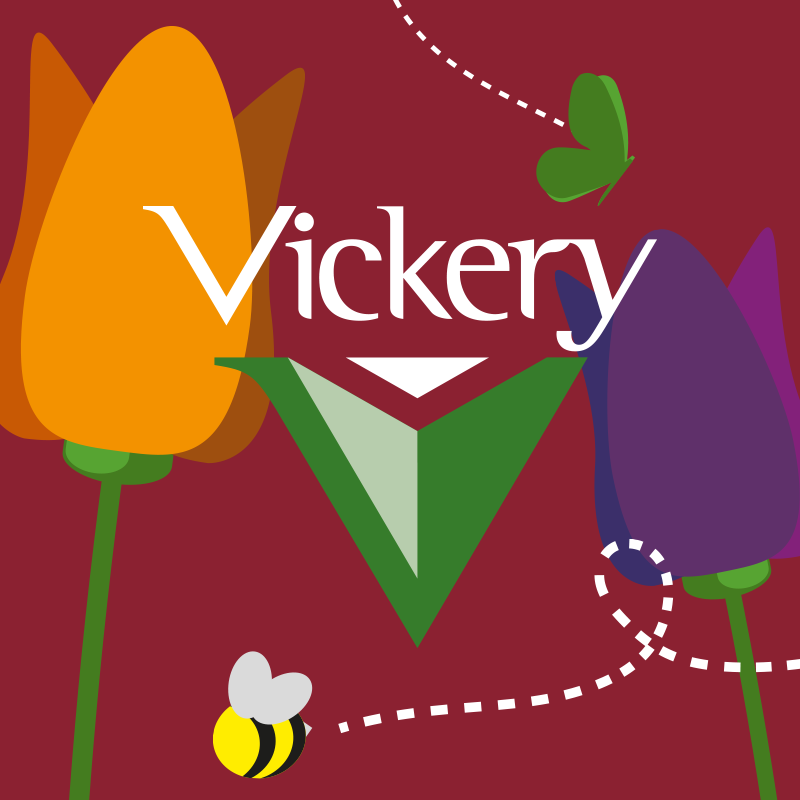 Vickery All In One Logo & Campaign My Name is Dan