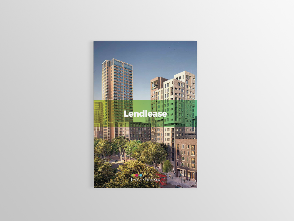Barnard Marcus Pitch Document for Lendlease Front Cover