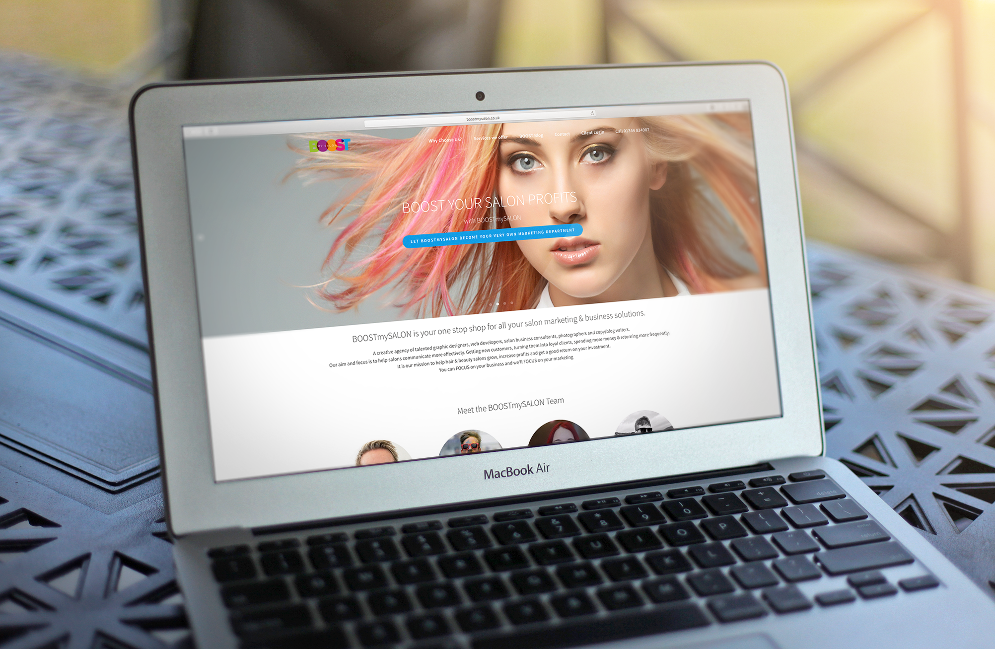 BOOSTmySalon Responsive Web Build