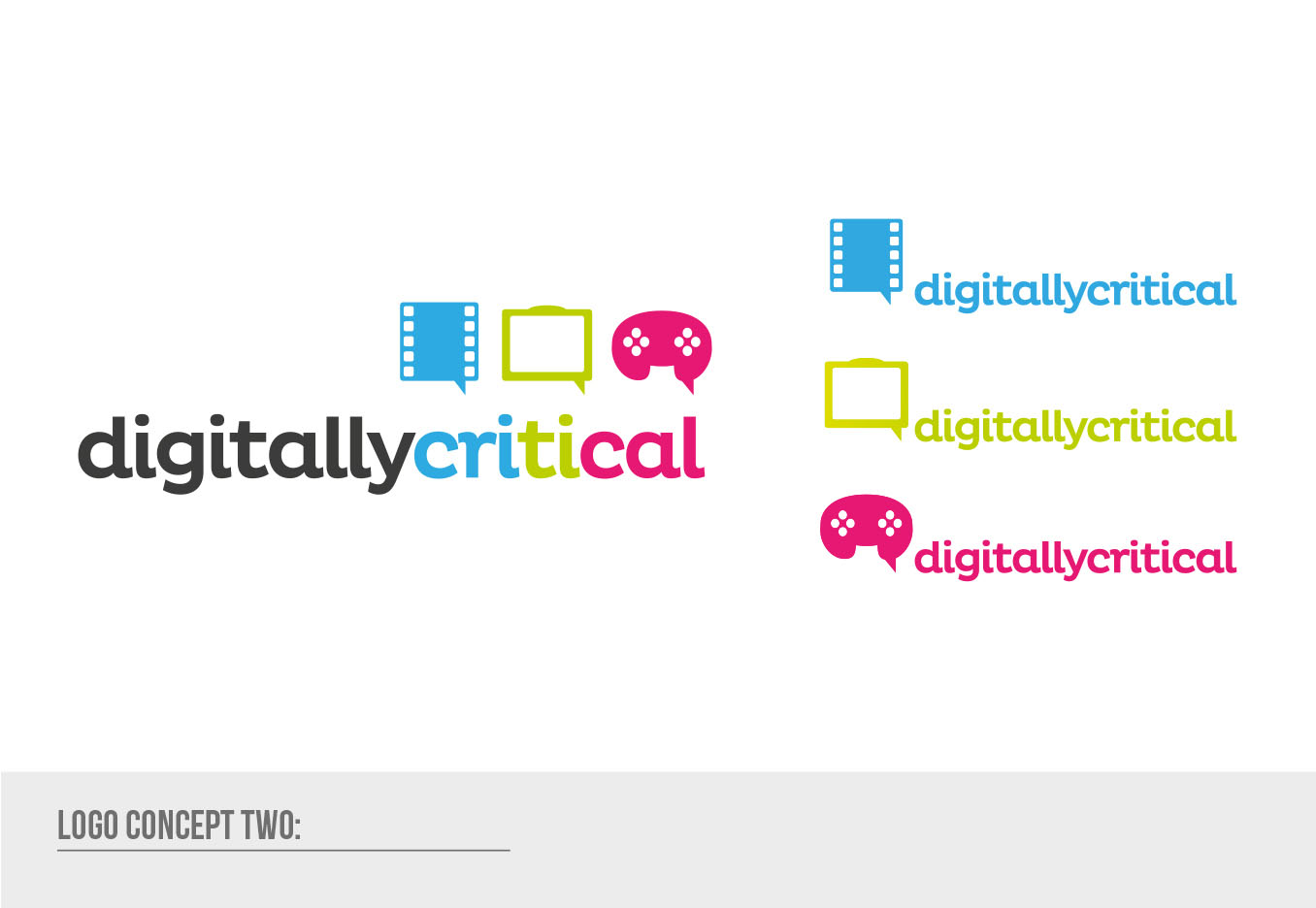 Digitally Critical Logo Design - Final Design