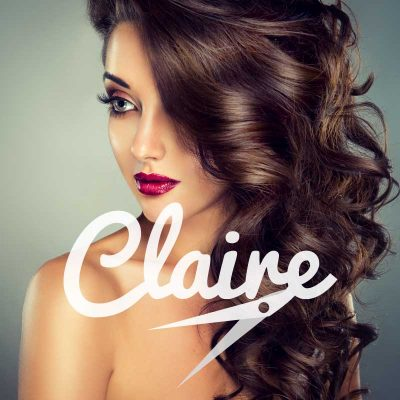 Claire Hairdressers Logo design Featured Image