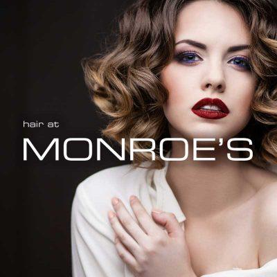 Hair at Monroes Website Design My Name is Dan