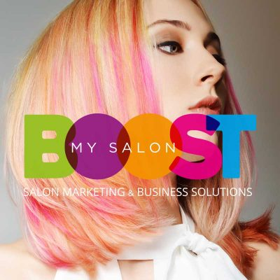 BOOSTmySALON Branding by My Name is Dan