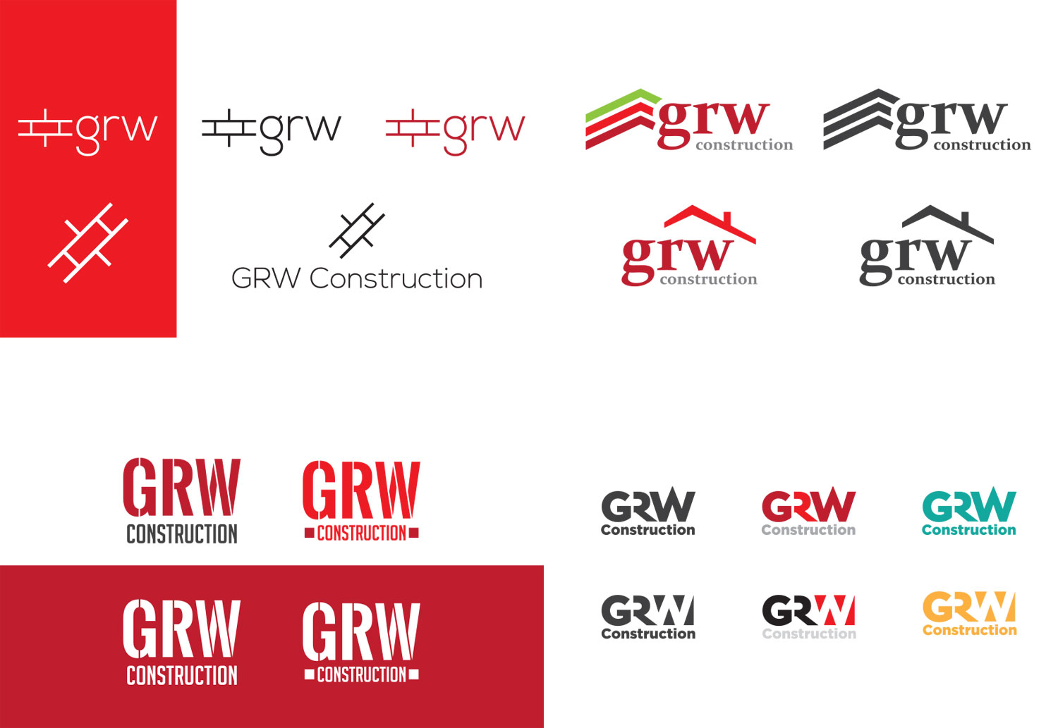 GRW refined logo concepts
