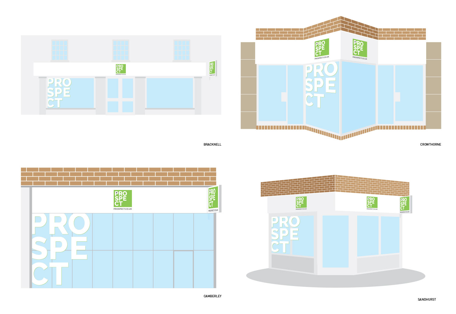 Prospect office fascia designs/concepts