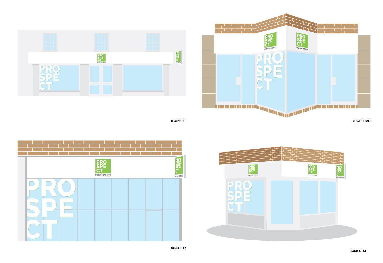 Prospect office fascia designs/concepts