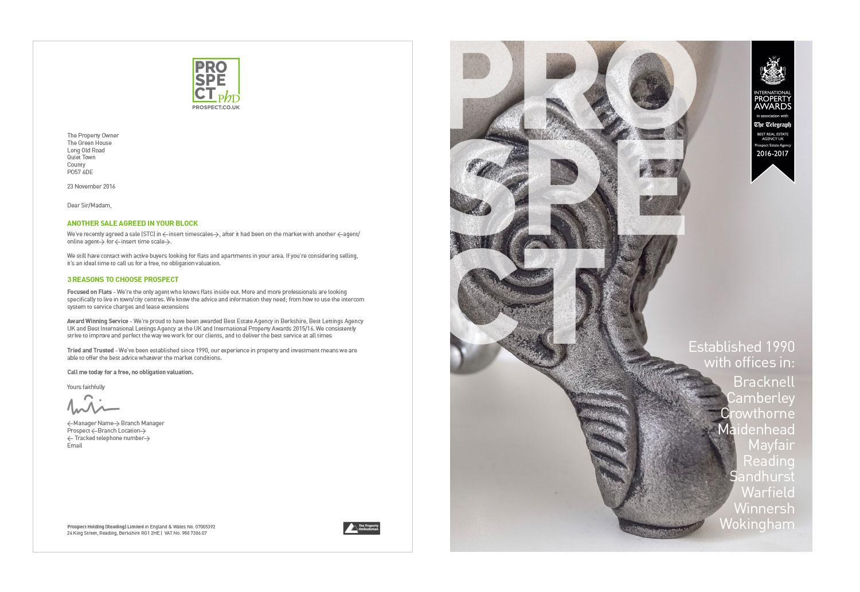 Prospect PHD rebranded Letterhead