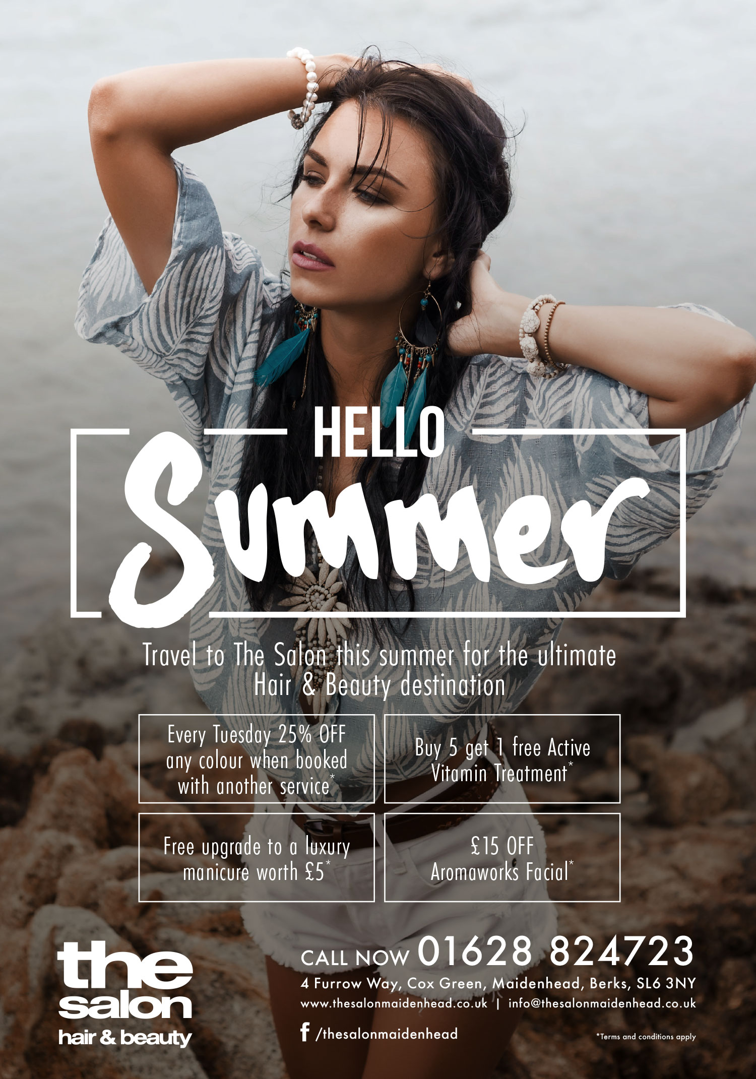The Salon Hello Summer Full Poster