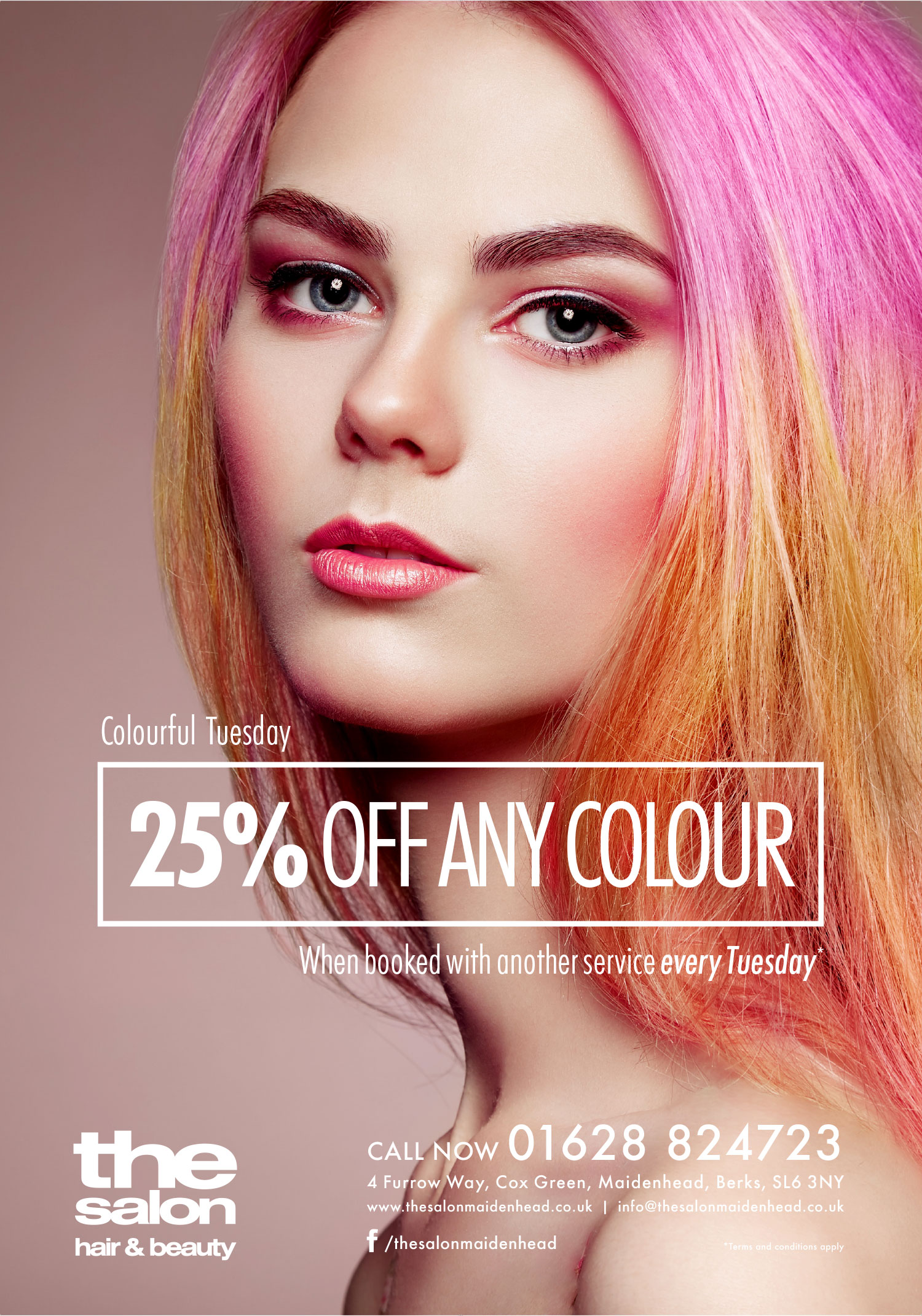 The Salon Colour Offer Full Poster
