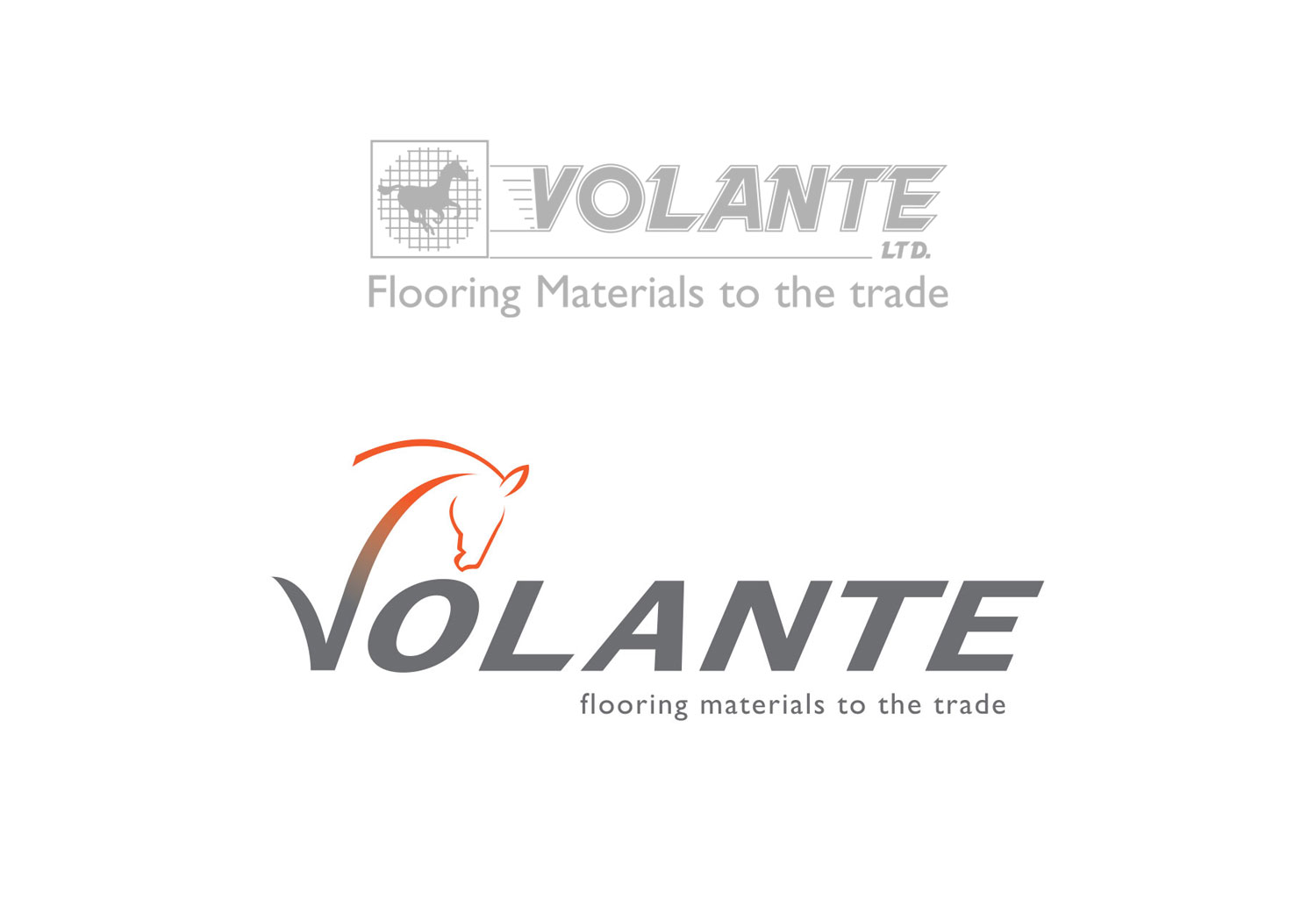 The old Volante logo next to the new