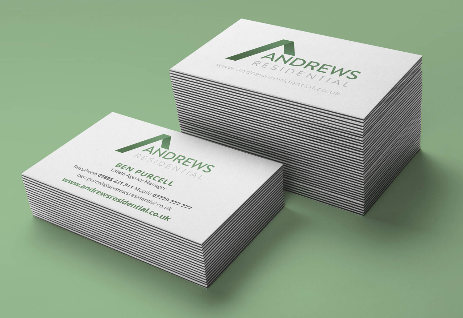 Andrews Residential Business Card