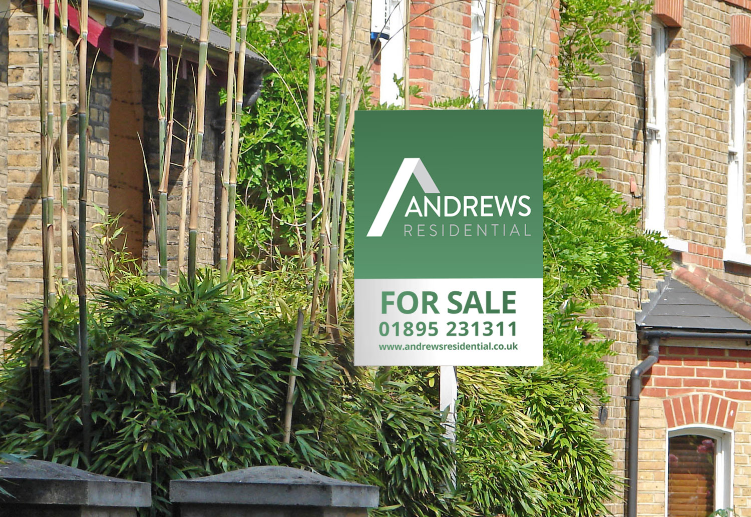 Andrews Residential For Sale board