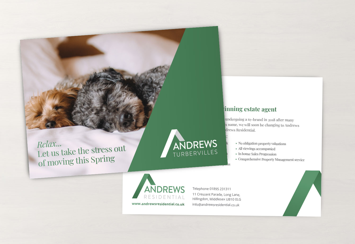 Andrews Residential Direct Mailer