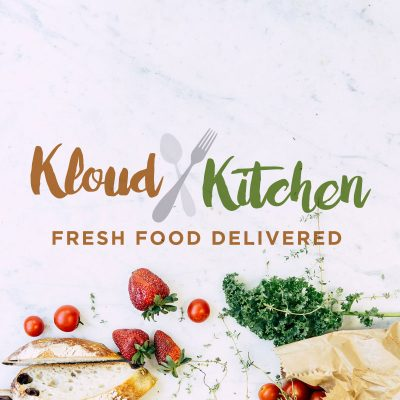 Kloud Kitchen Logo Design