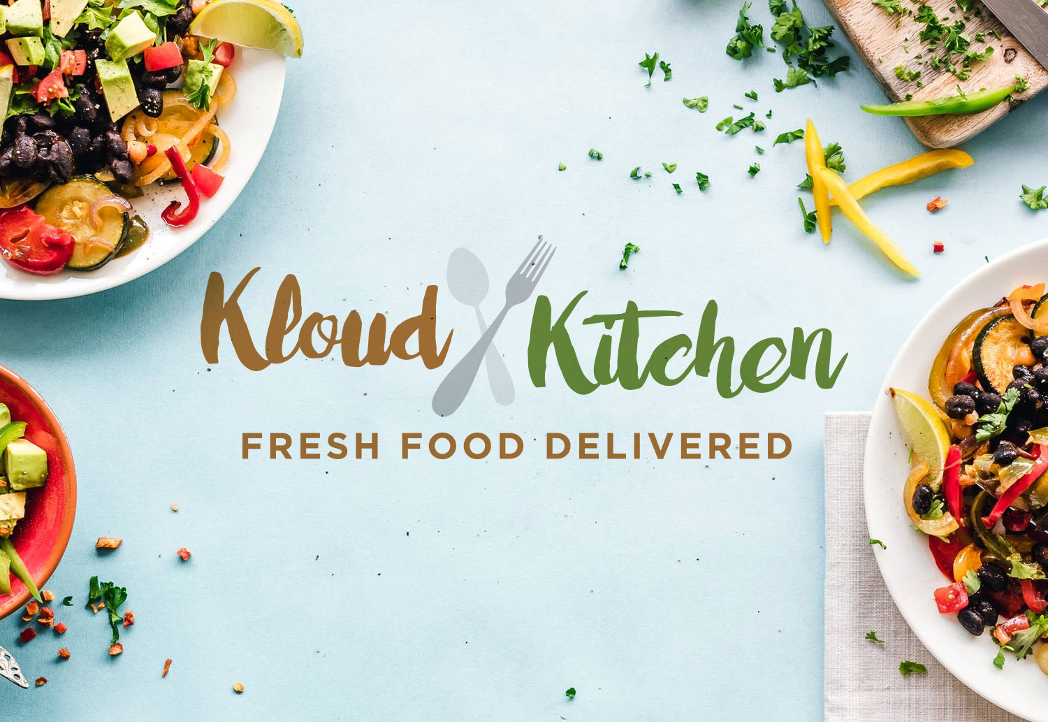 My Name is Dan - Kloud Kitchen Logo Design