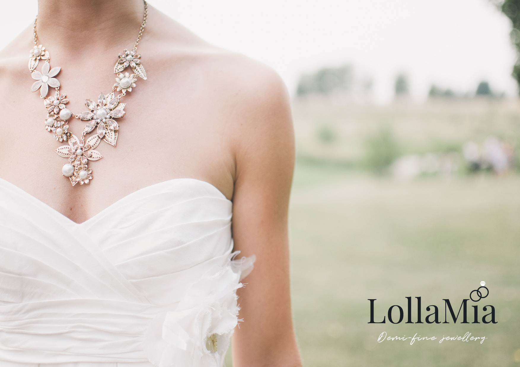 Lolla Mia Logo/Brand Creation | Logo Concept Diamond Cut