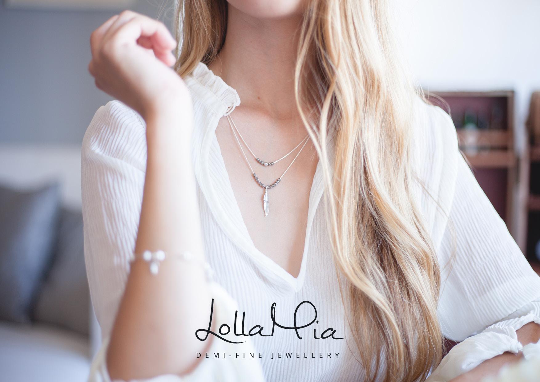 Lolla Mia Logo/Brand Creation | Logo Concept Personal Touch