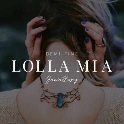 My Name is Dan | Lolla Mia | Logo/Brand Creation
