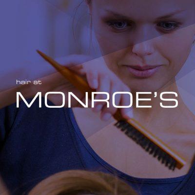My Name is Dan | Hair at Monroes | Poster Design
