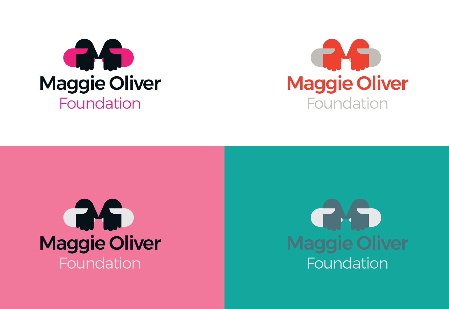 Maggie Oliver Foundation | Logo Concepts from Presentation