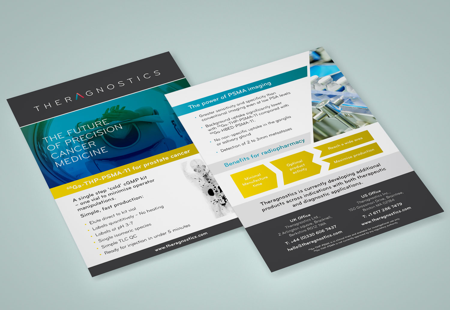 Theragnostics | Leaflet Design