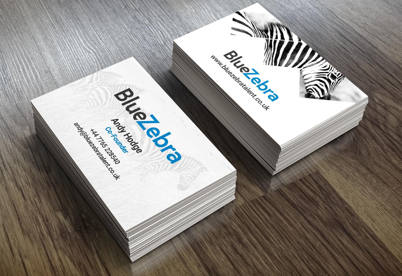 BlueZebra Business Cards