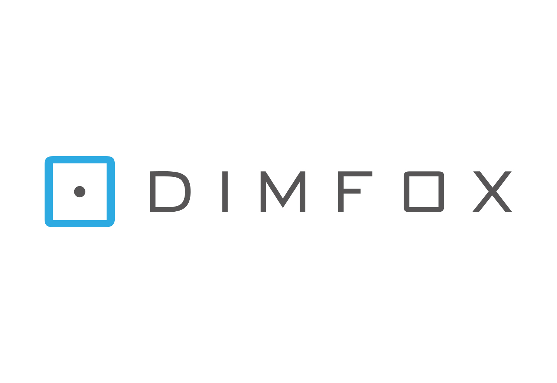 Final DIMFOX Logo Design - Light Background