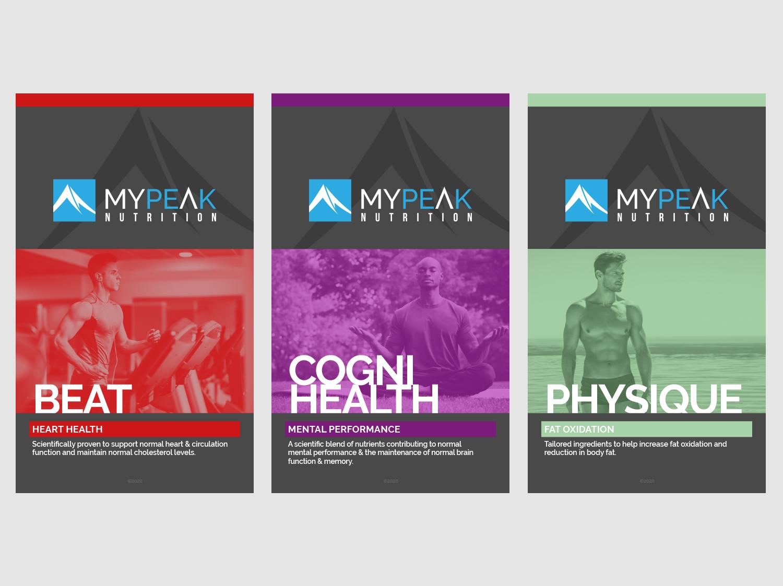 MyPeak Packaging Flat Designs - My Name is Dan