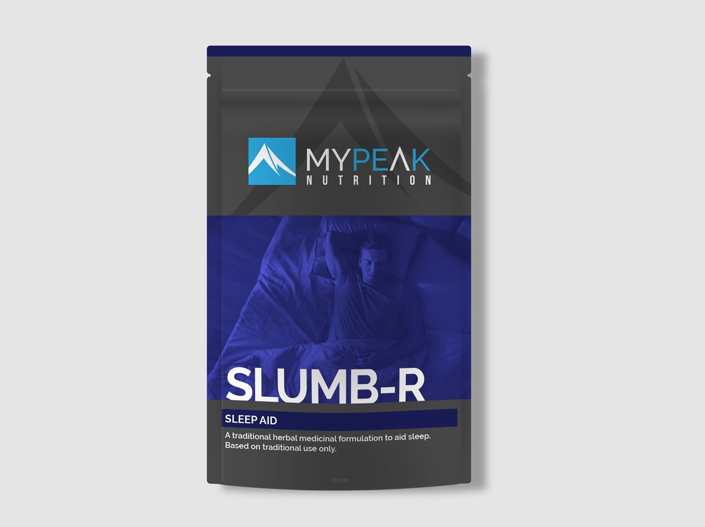 MyPeak Packaging Design Slumb-R - My Name is Dan