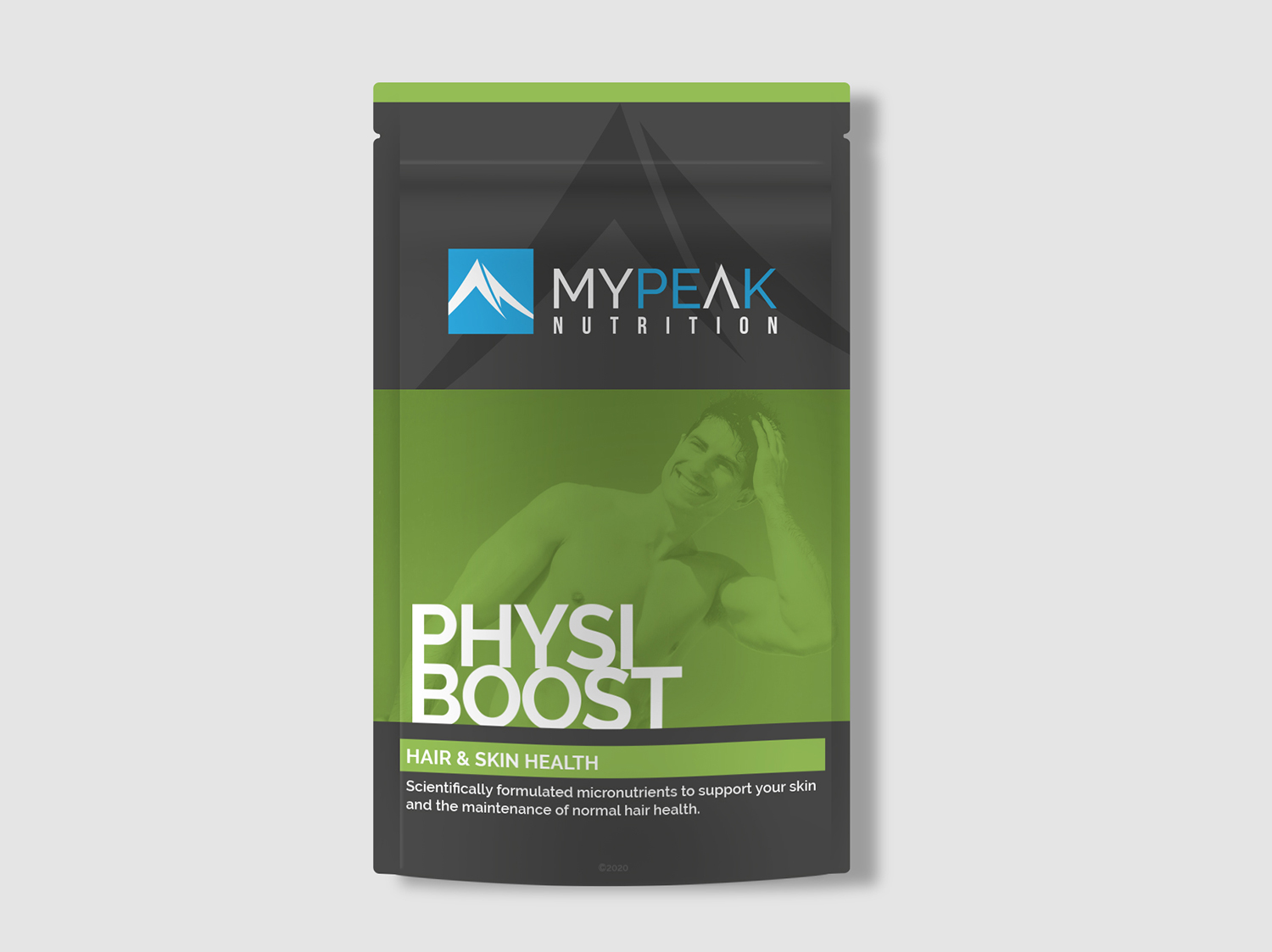 MyPeak Packaging Design Physio-Boost - My Name is Dan