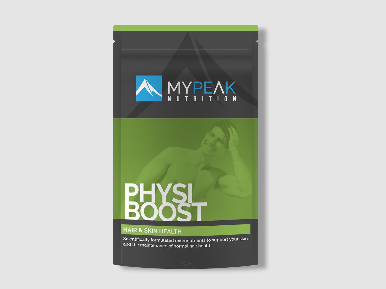 MyPeak Packaging Design Physio-Boost - My Name is Dan