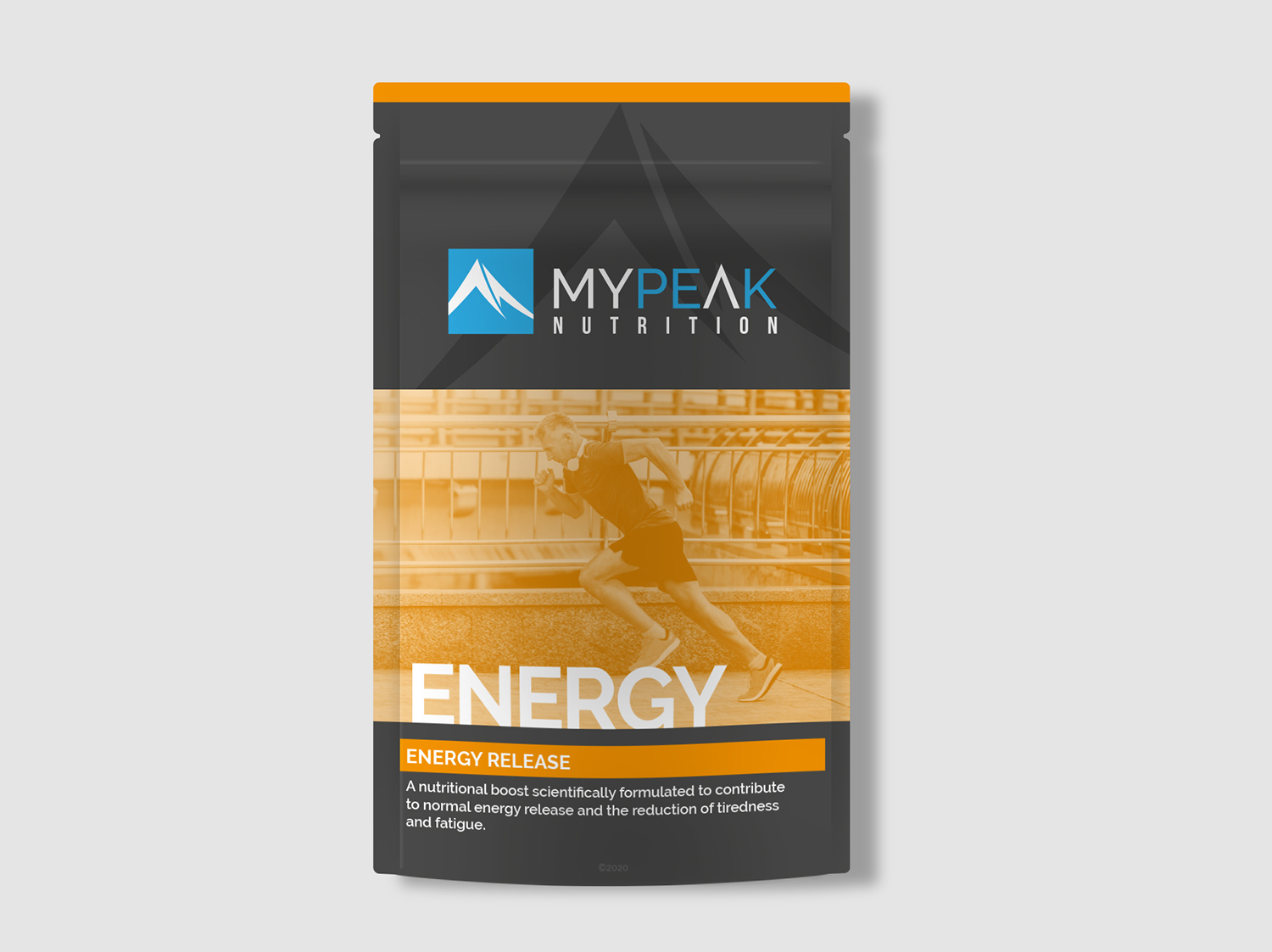 MyPeak Packaging Design Energy - My Name is Dan