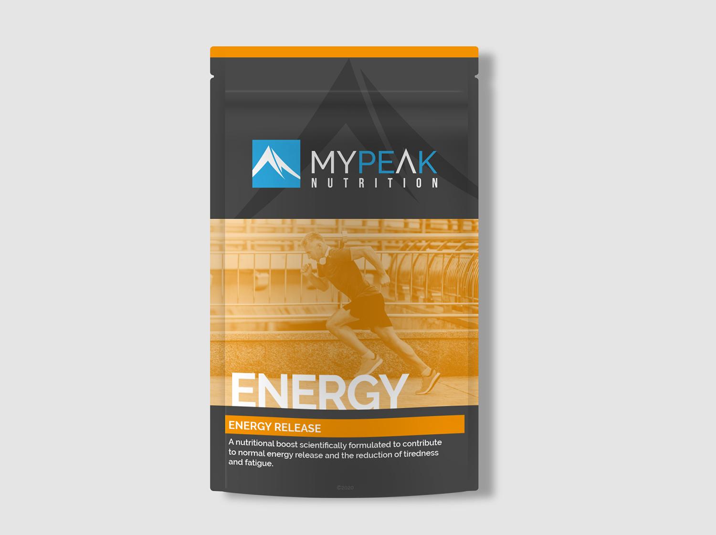 MyPeak Packaging Design Energy - My Name is Dan