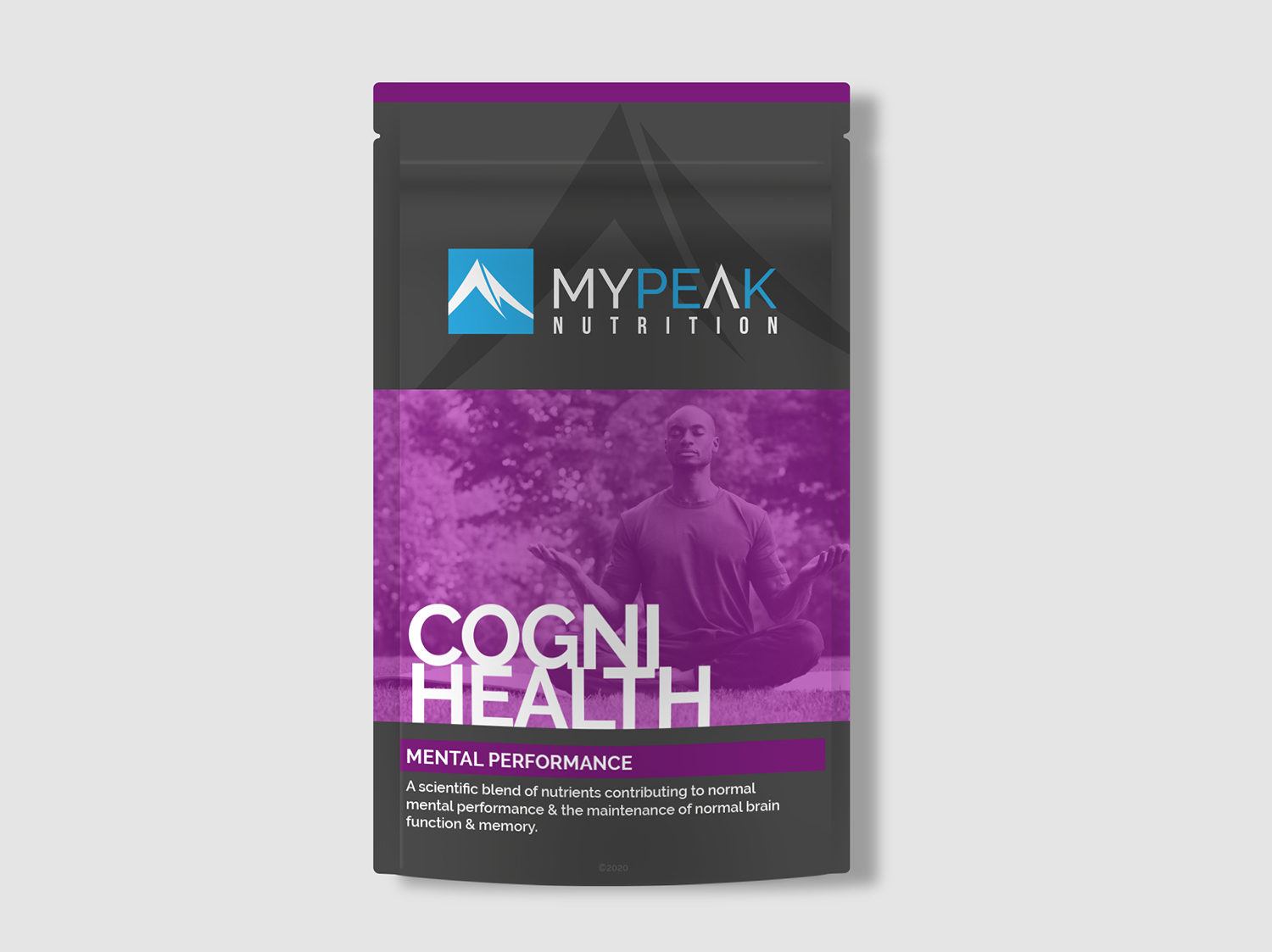 MyPeak Packaging Design Cogni-Health - My Name is Dan