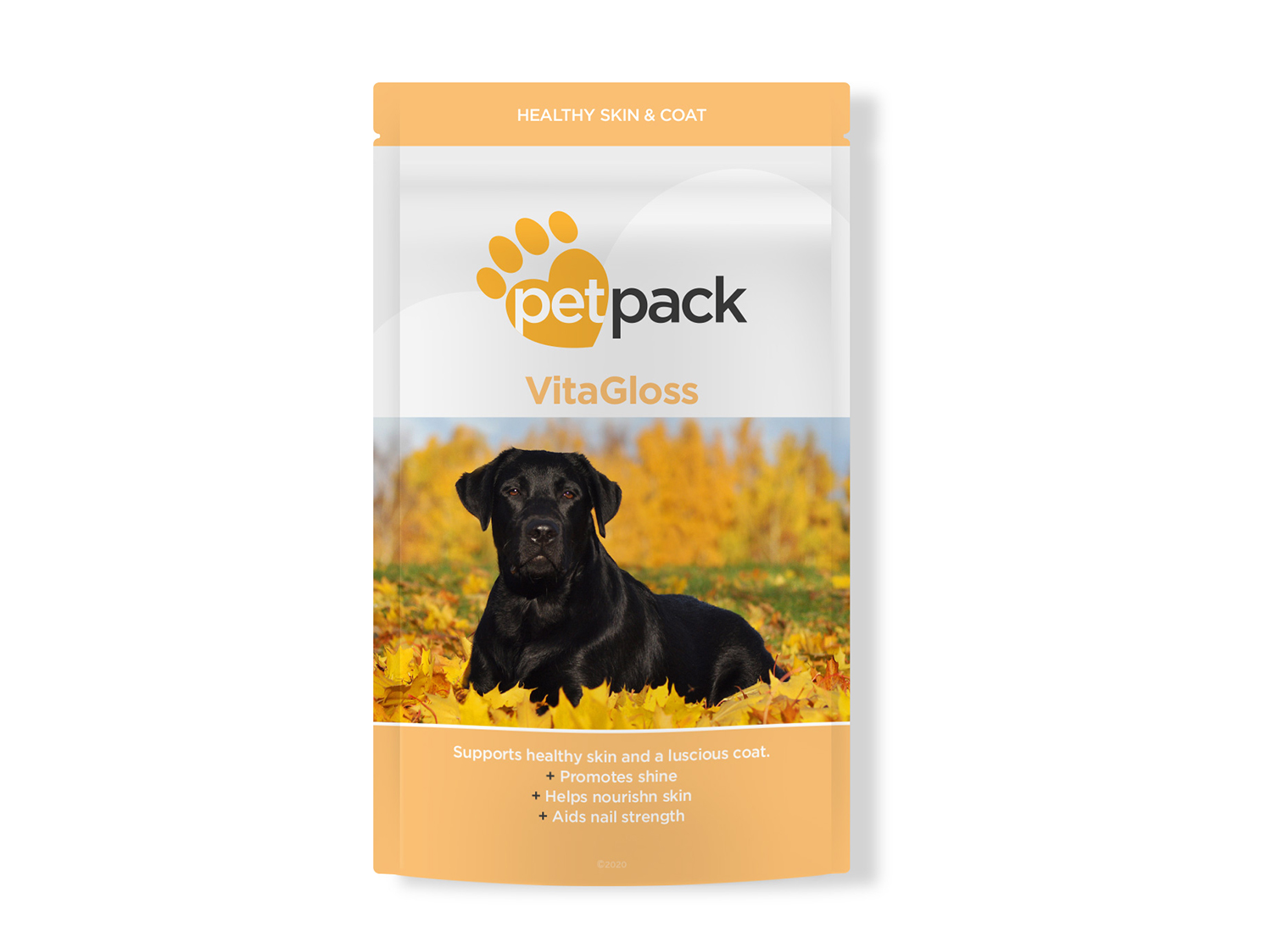 PetPack Packaging Design VitaGloss - My Name is Dan