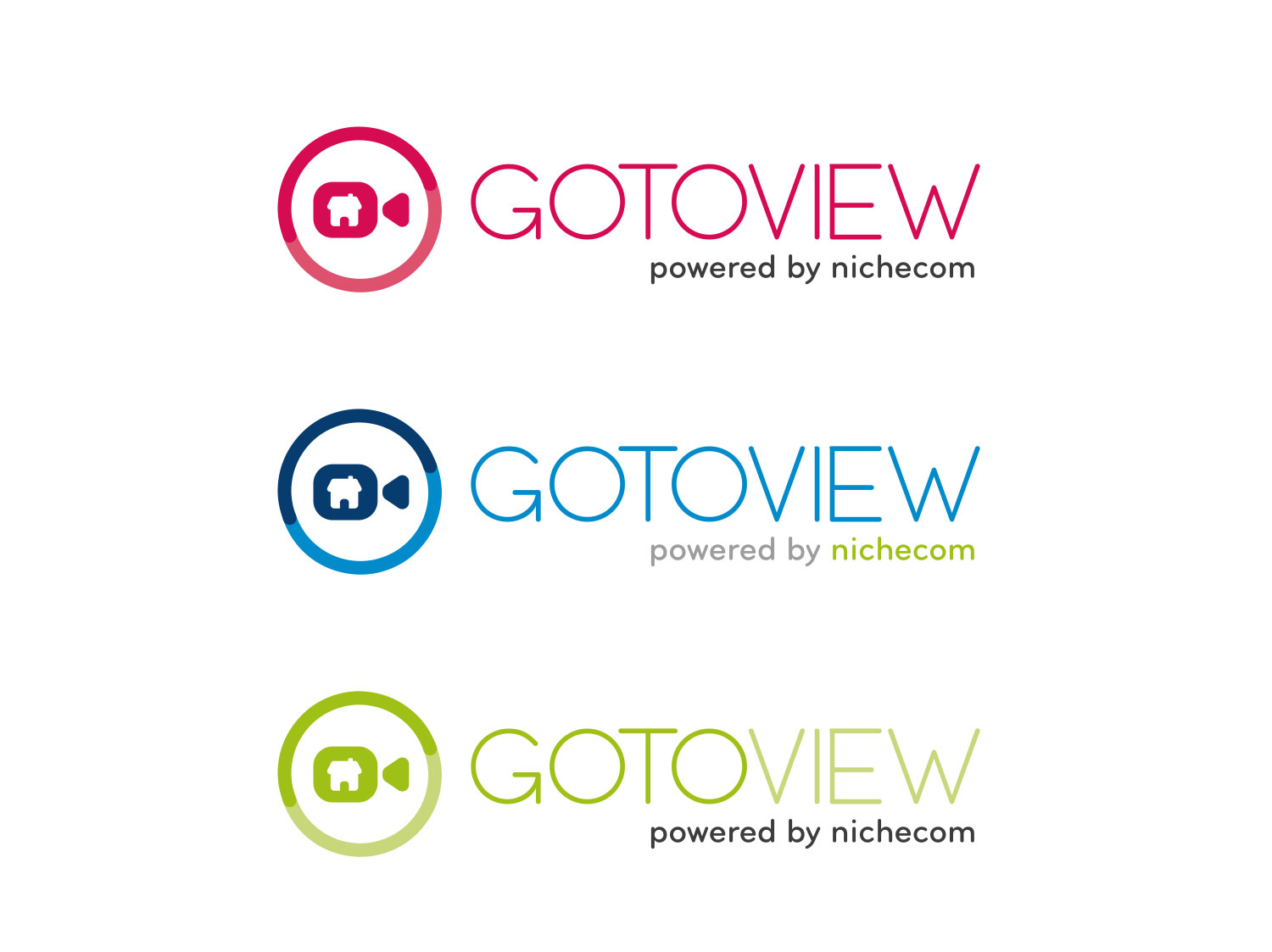 GotoView Branding & Webpage for NicheCom | My Name is Dan