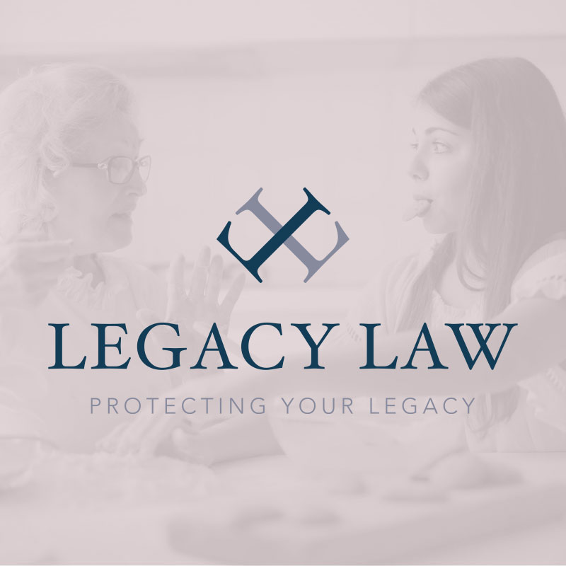 My Name is Dan Logo Design and Responsive Website Build for Legacy Law