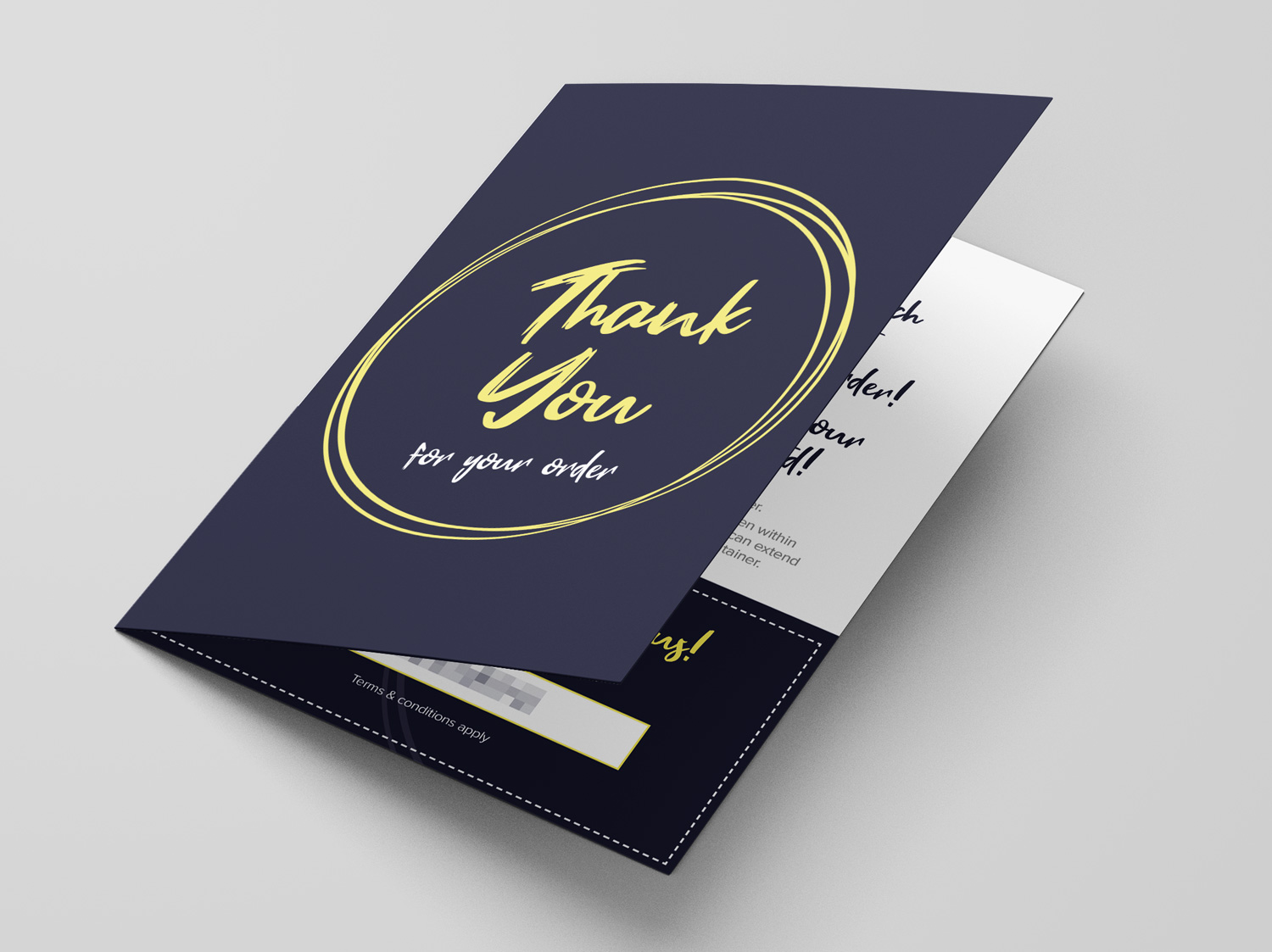 Thank You For Your Order Card for Chocobelle - by My Name is Dan
