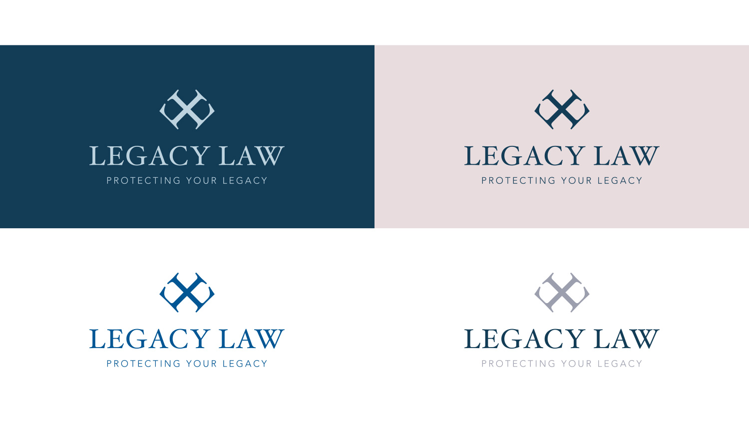 Logo Concepts for Legacy Law - by My Name is Dan