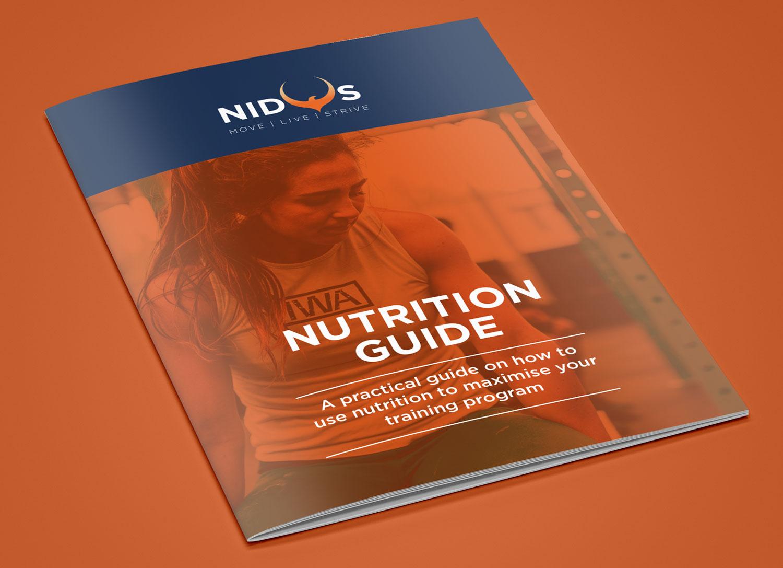Nidus Rebrand - Nutrition Guide - by My Name is Dan