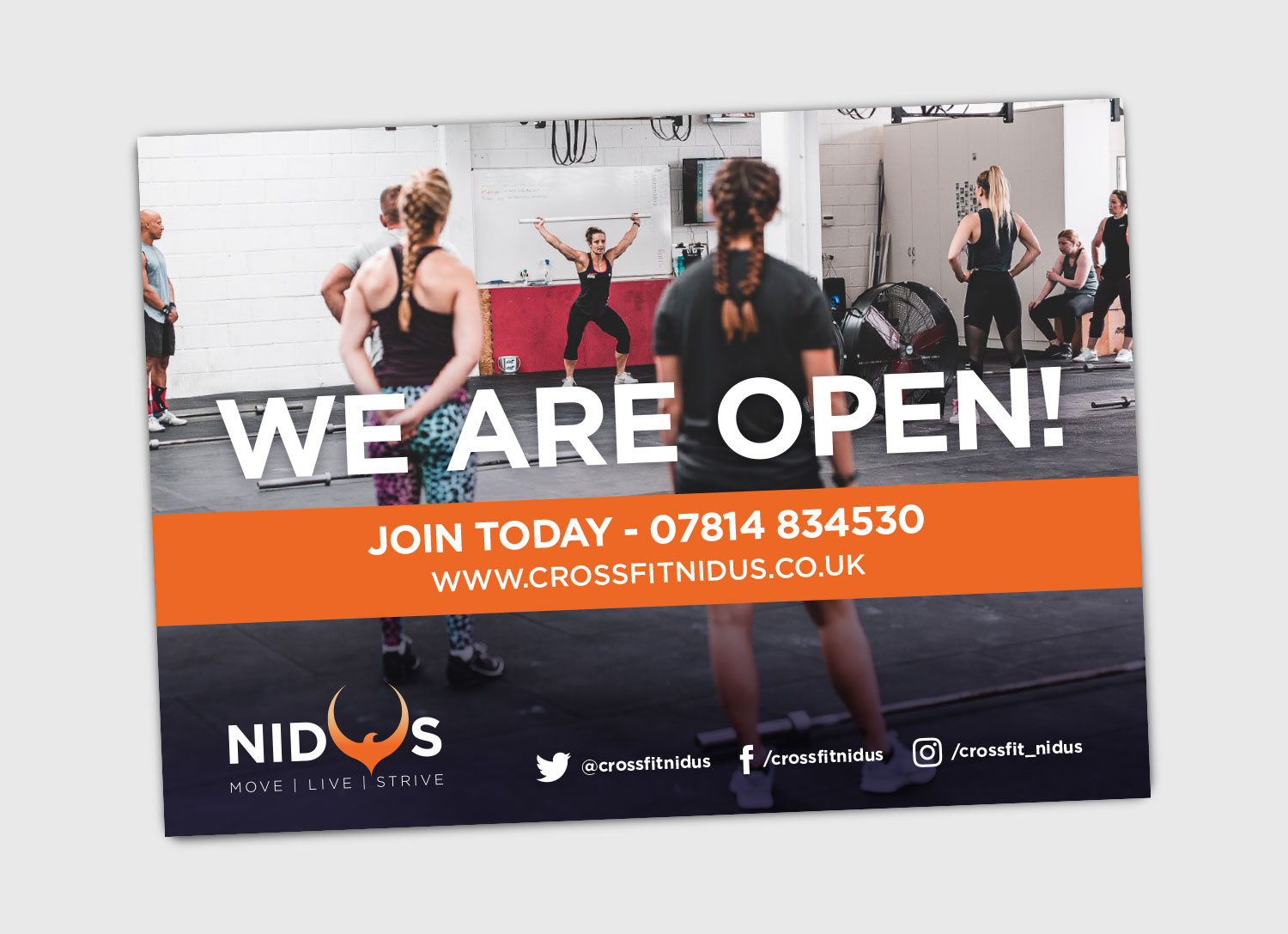 Nidus Rebrand - We Are Open Mailer for Members - by My Name is Dan